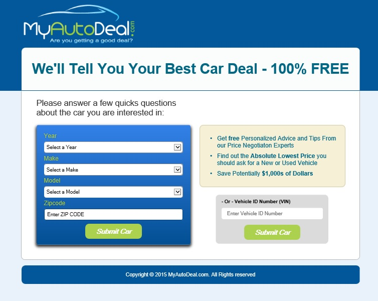 Provides presonalized pricing and negotiation advice to new and used car shoppers. In Beta.